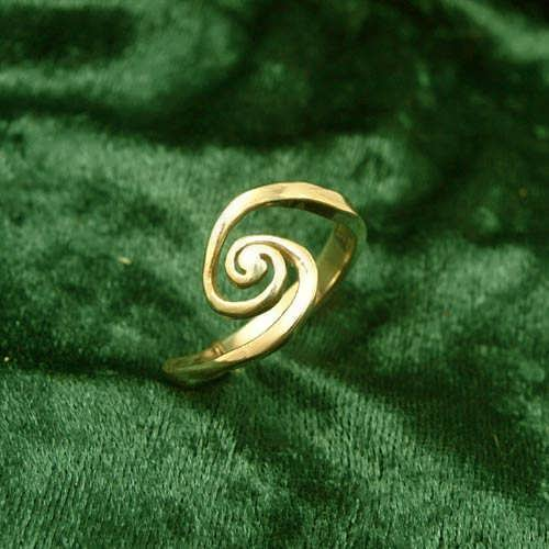 M51 Galaxy Ring Gold