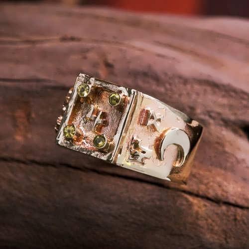 קמע טבעת יופיטר בהתעלות זהב (*מהדורה מוגבלת*)