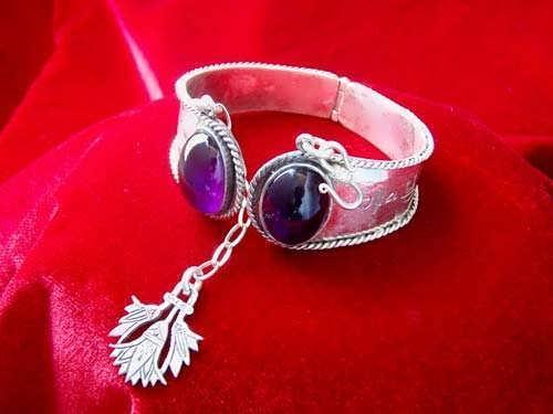 Ka Bracelet silver with Amethyst
