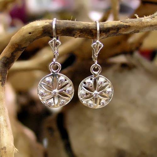 Ka Earrings Silver with Zircons
