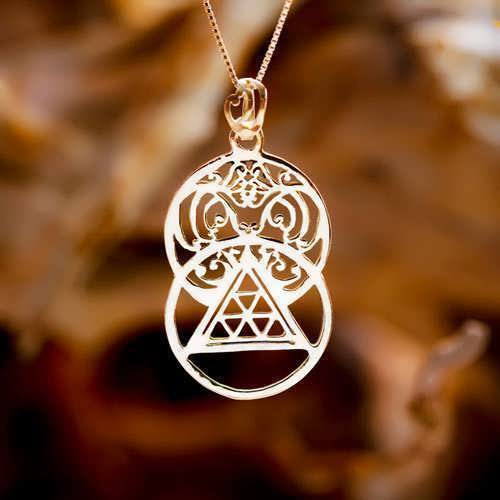 The Light Pendant Gold