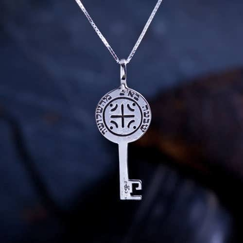 Melchizedek Schlüssel Silber