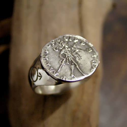 Mars In Scorpio Talisman Ring (*Limited Edition*)