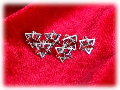 Merkaba Anhänger Small Silber