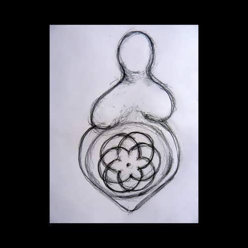 Фамулет «Материнство», золото