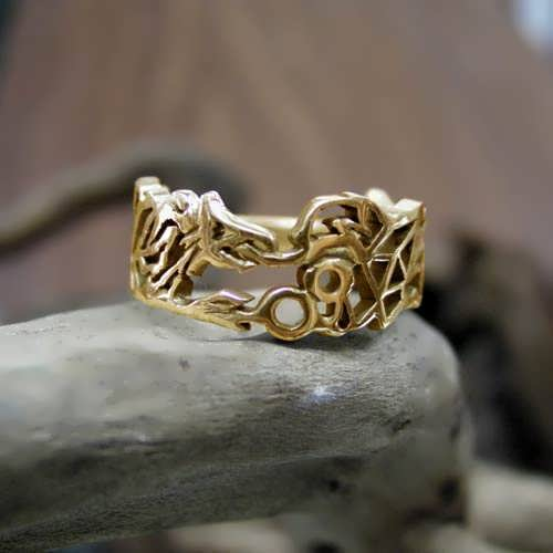 Ouroboros Ring Gold