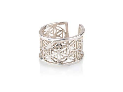 Pattern of Life Ring Small Silver