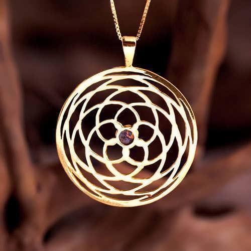 קמע תבנית התנועה של ונוס - זהב