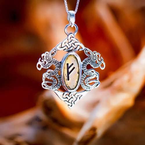 Die Runen - Silberanhänger