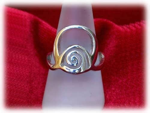 Reichtum Ring - Silber