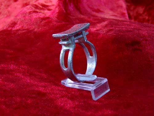 Кольцо «Синто» (врата тории), серебро