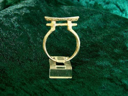 Shinto (Torii Gate) Ring Gold