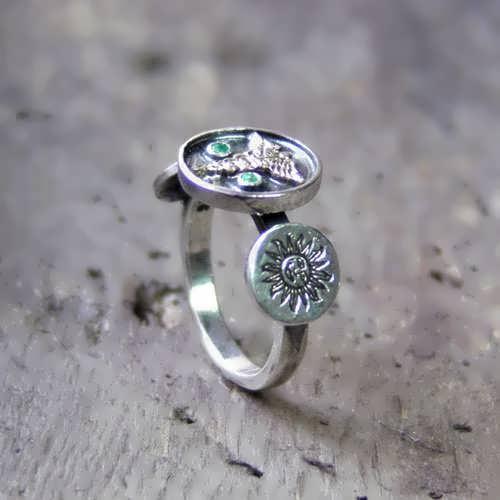 טבעת קמע חתונת המאורות כסף וזהב (*מהדורה מוגבלת*)