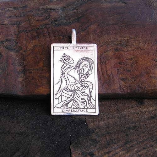 Кулон «Таро: Императрица», серебро