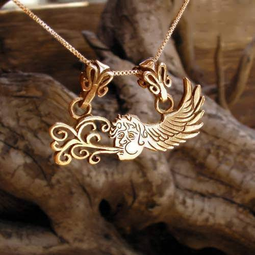 The Air Element Pendant Gold