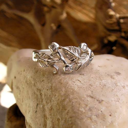The Great Mother Ring Silver with Cubic Zirconia