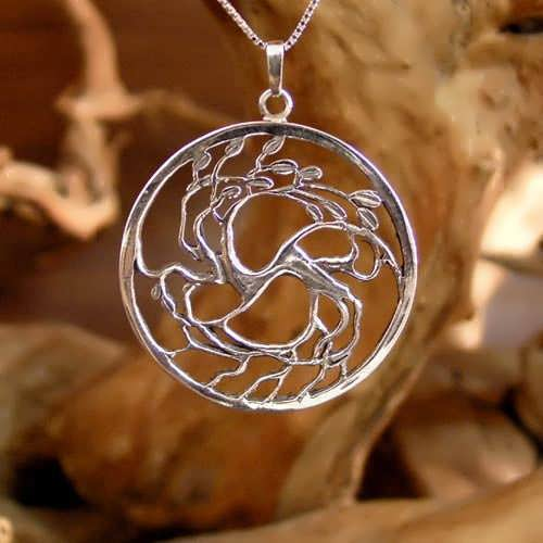 Tree of Love Silver Pendant