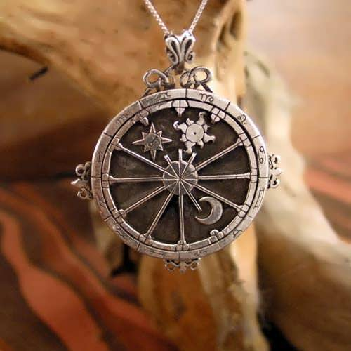 Personalisierter Trinity Talisman Silber