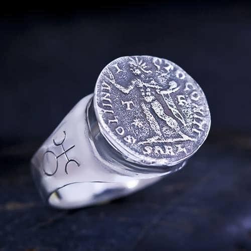 קמע אוראנוס בטלה כסף וזהב (*אזל!*)