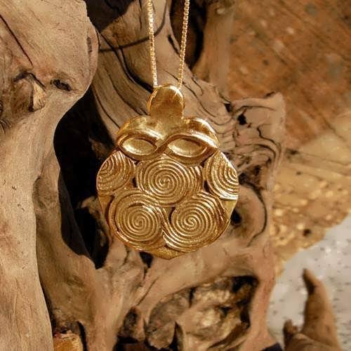 Фамулет «Женская сила», золото