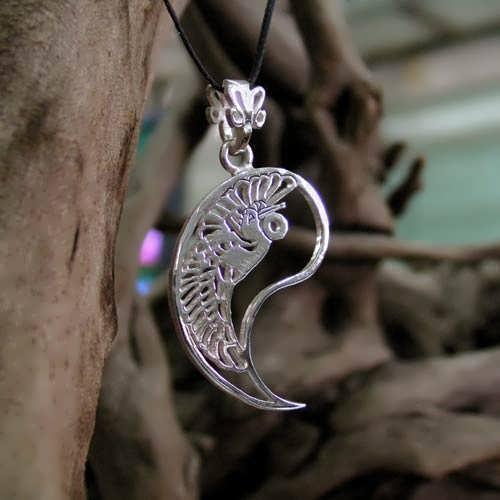 Кулон «Инь», серебро