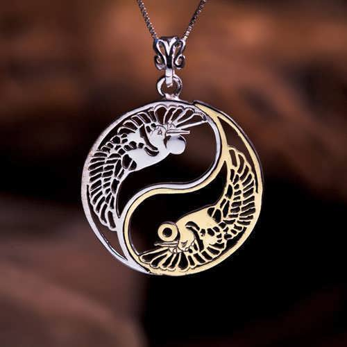 The Yin Yang Gold and Silver