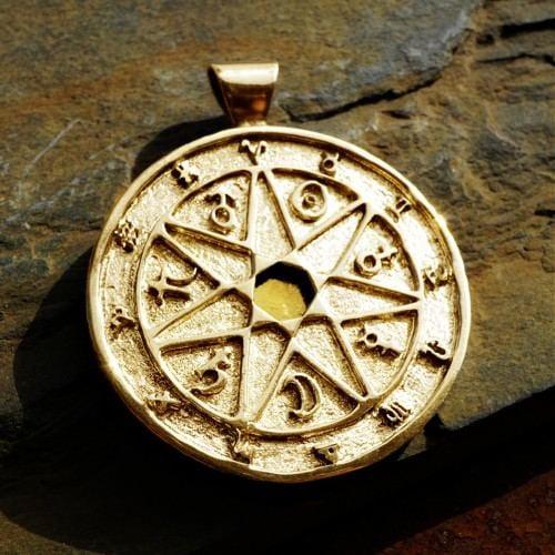 7 Metals Chaldean Astrology Talisman Gold (*Limited Edition*)