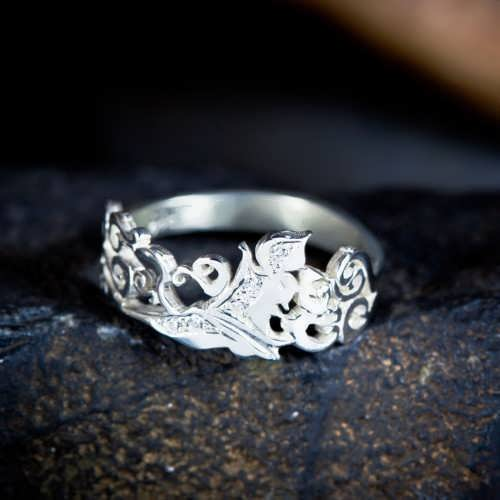 The Air Element Ring Silver