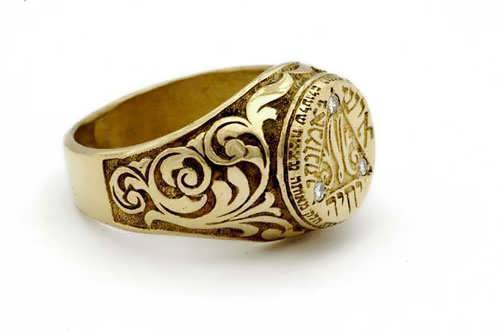 Bulgakov ring gold