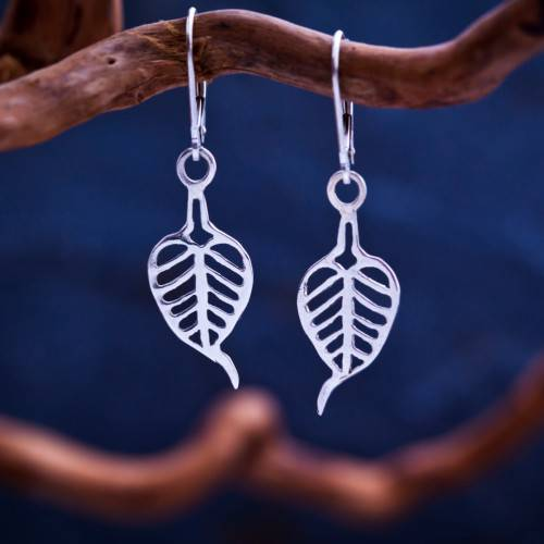 Buddhi Earrings Silver