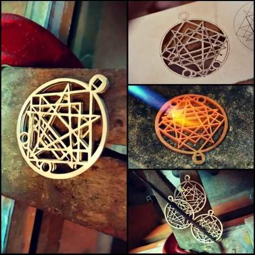 Pleroma Gold Pendant