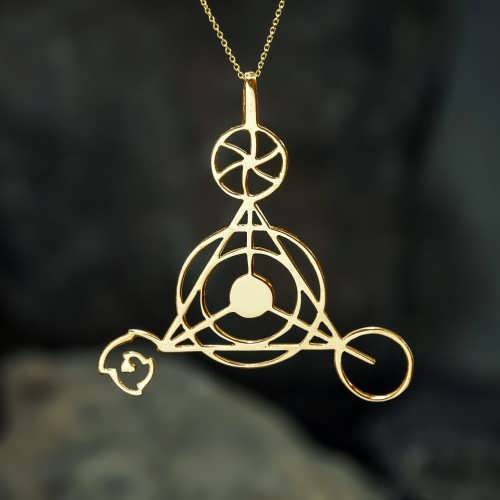 Кулон «Личное Созидание», золото
