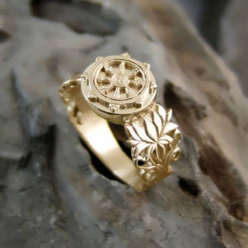 Dharma Ring Gold