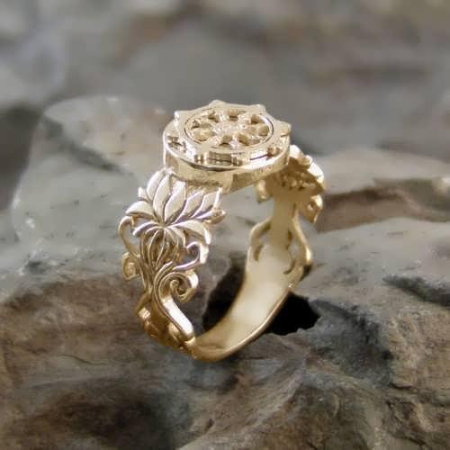 Dharma Ring Gold