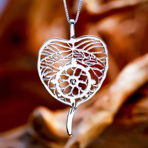 Dharma Pendant Silver