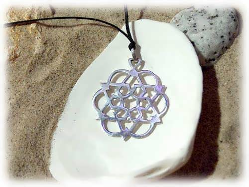Egg of Life Star Silver