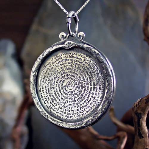Emerald Tablet Pendant Silver (*Limited Edition*)