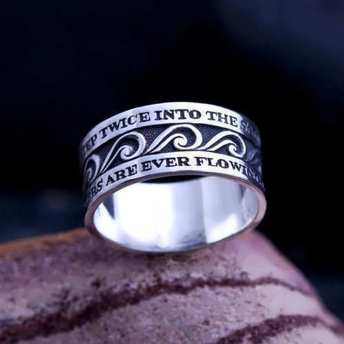 The Ring of Eternal Flow Silver