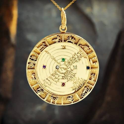 Image of the Cosmos Talisman Gold (*Last Two!*)