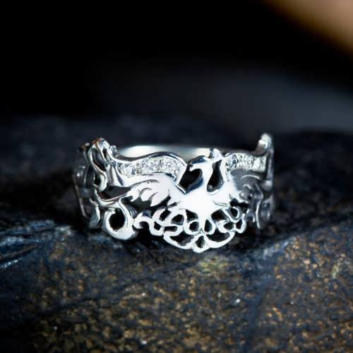 The Fire Element Ring Silver