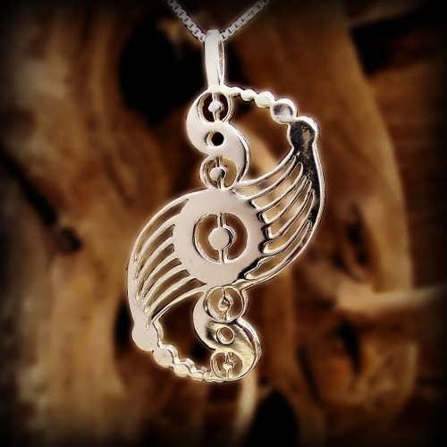 Galactic Harmony Pendant Silver