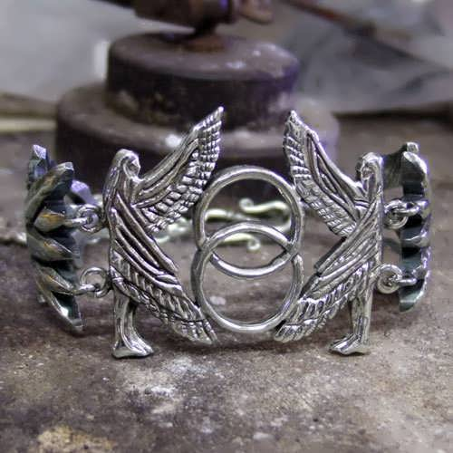 The First Day of Genesis Bracelet Silver