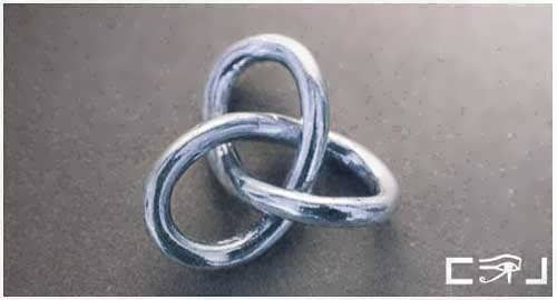 Gordian Knot Pendant Silver Big