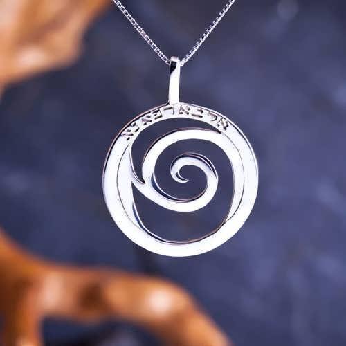 Healing Rafa Pendant Big Silver