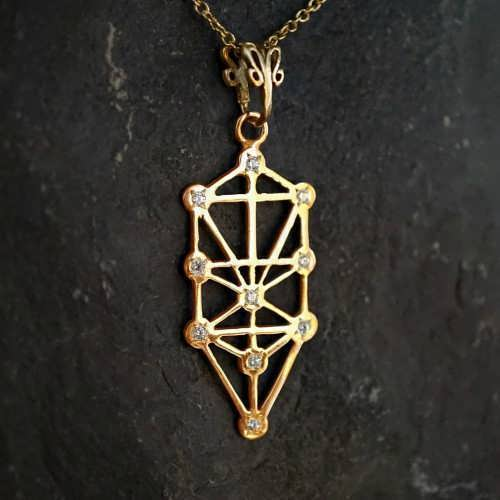 Inlaid Tree of Life Gold