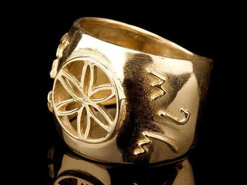 Jerusalem Ring Gold
