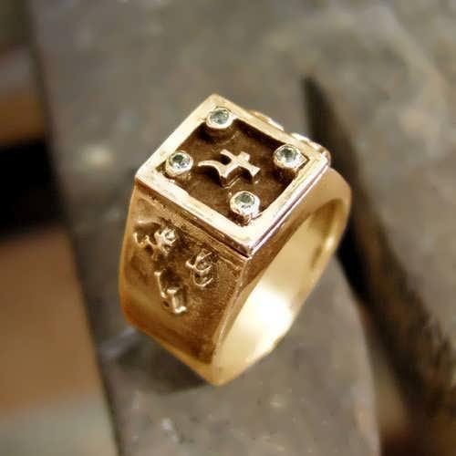 Jupiter Exaltation Talisman Ring Gold