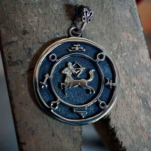 Jupiter Sagittarius Round Talisman Silver (*Limited Edition*)