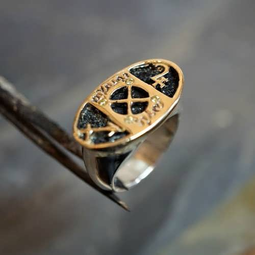 Jupiter in Sagittarius Talisman Ring Silver and Gold (*Limited Edition*)