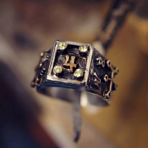 Jupiter Spica Talisman Ring Silver And Gold (*Limited Edition*)